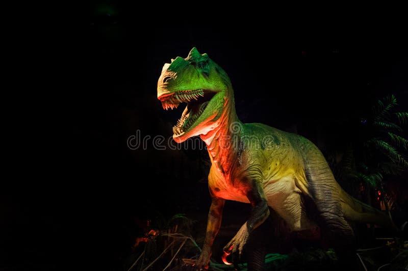 Centro pacifico T-Rex di scienza fotografia stock libera da diritti