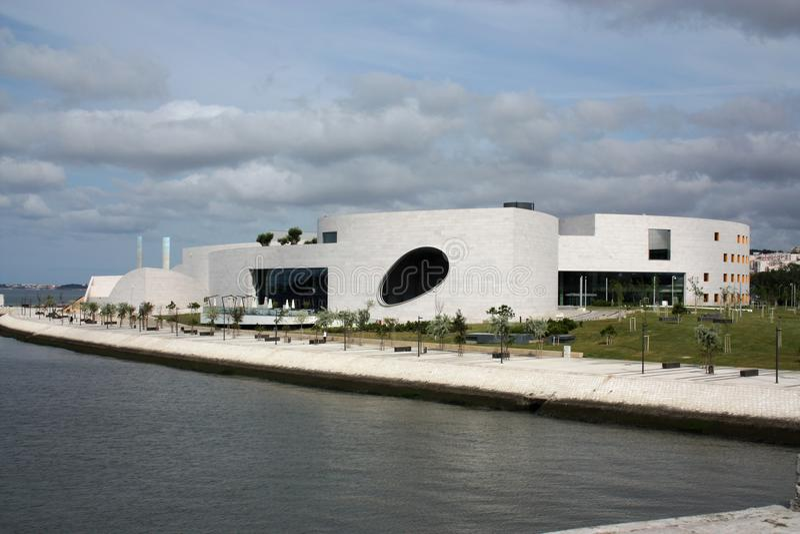 Centro para el desconocido, Lisboa de Champalimaud foto de archivo