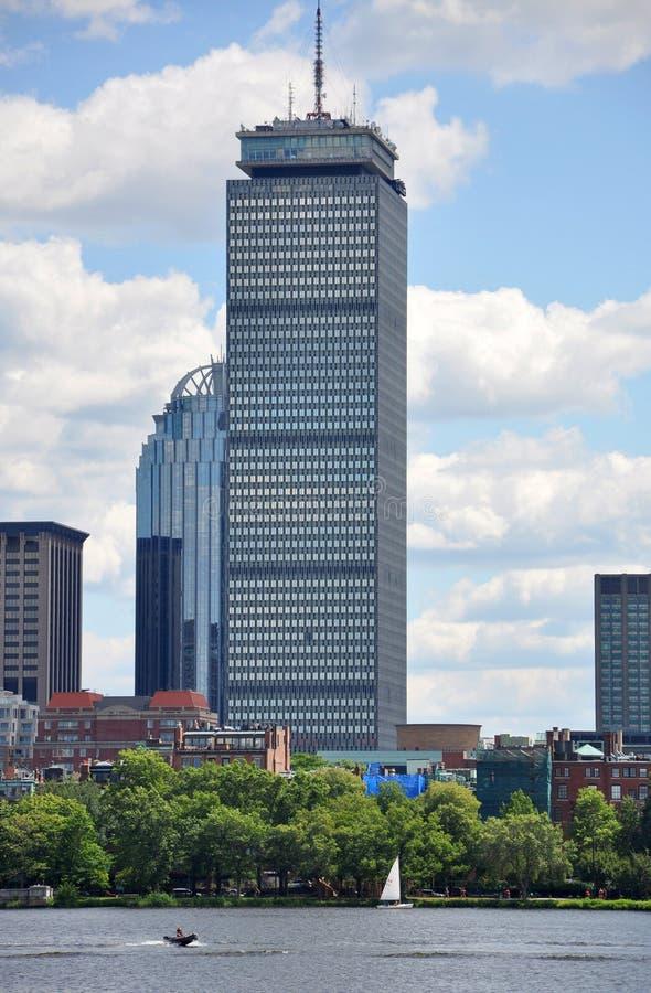 Centro prudencial en la bahía posterior, Boston foto de archivo