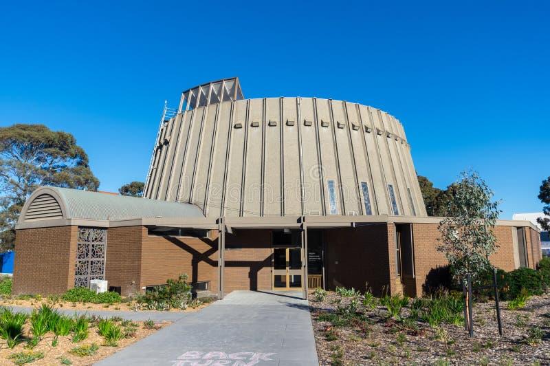 Centro religioso della città universitaria di Clayton dell'università di Monash a Melbourne fotografie stock libere da diritti