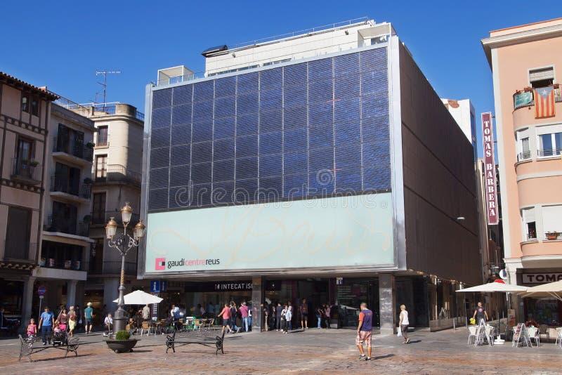 Centro Reus di Gaudi immagine stock
