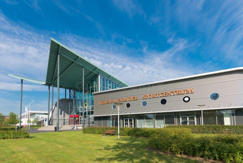 Centro sportivo dell'università immagini stock libere da diritti