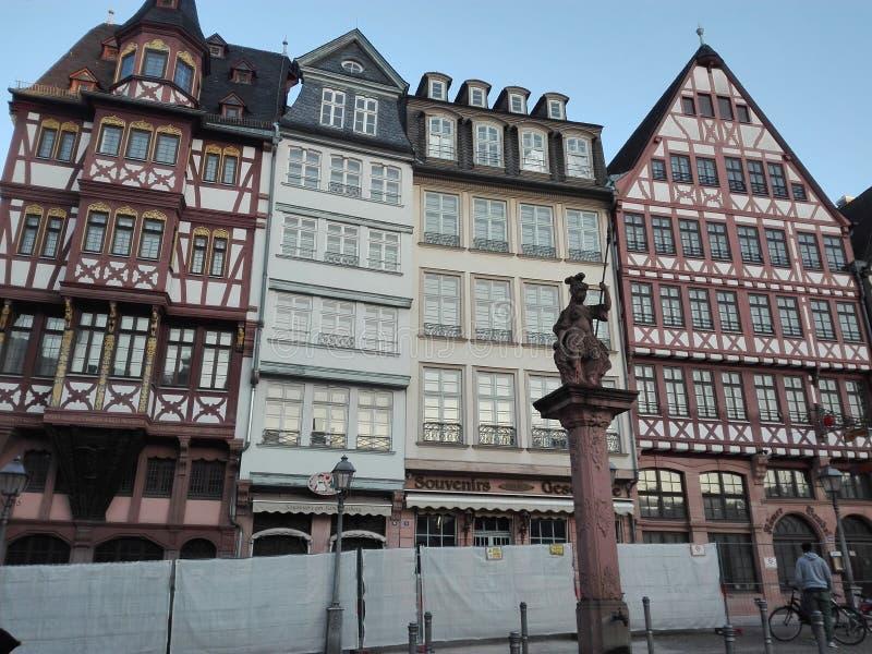 Centro storico di Francoforte fotografie stock
