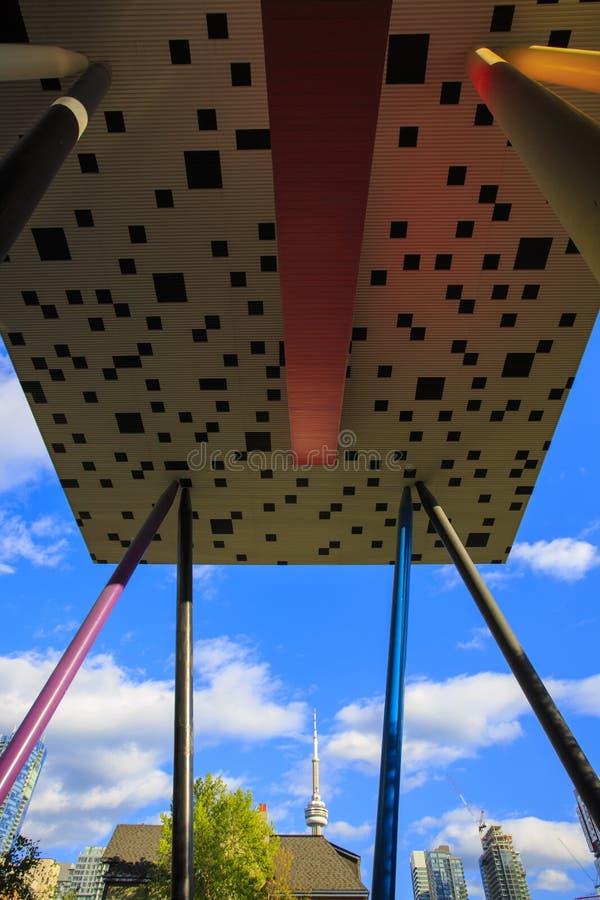Centro tagliente per progettazione, istituto universitario di OCAD di Ontario di arte immagini stock libere da diritti