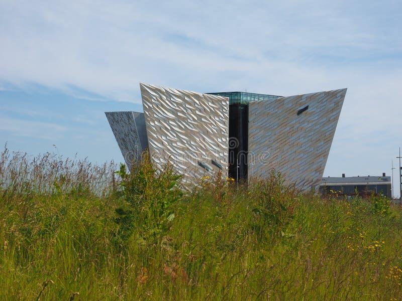 Centro titánico de Belfast imagen de archivo