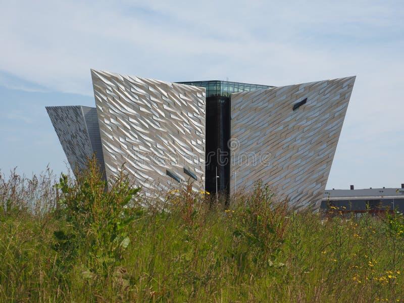 Centro titánico de Belfast fotografía de archivo libre de regalías