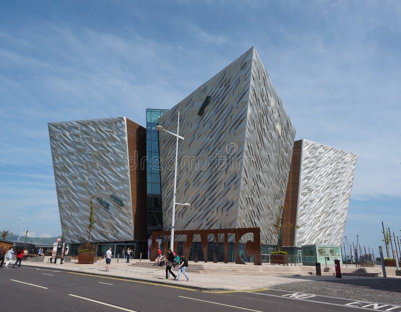 Centro titánico de Belfast fotografía de archivo