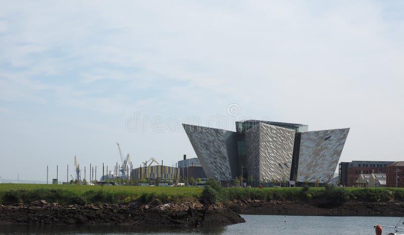 Centro titánico de Belfast imágenes de archivo libres de regalías