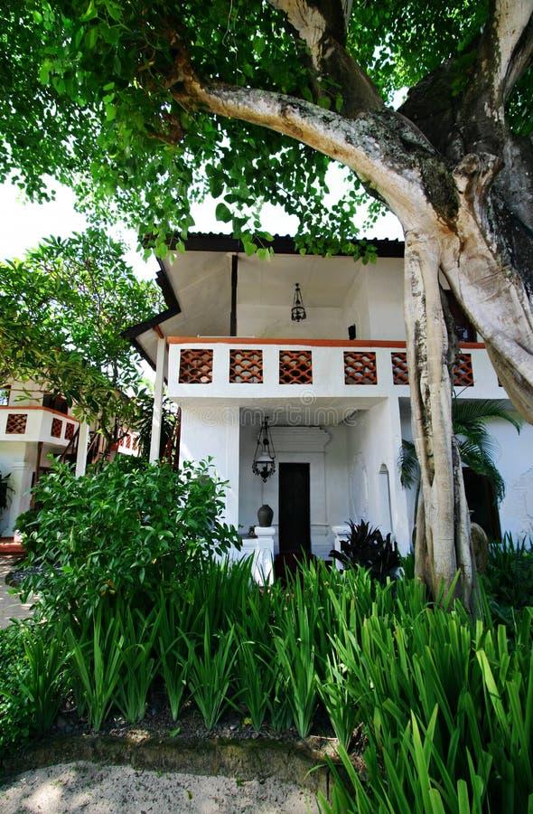 Centro turístico de día de fiesta de Bali fotos de archivo