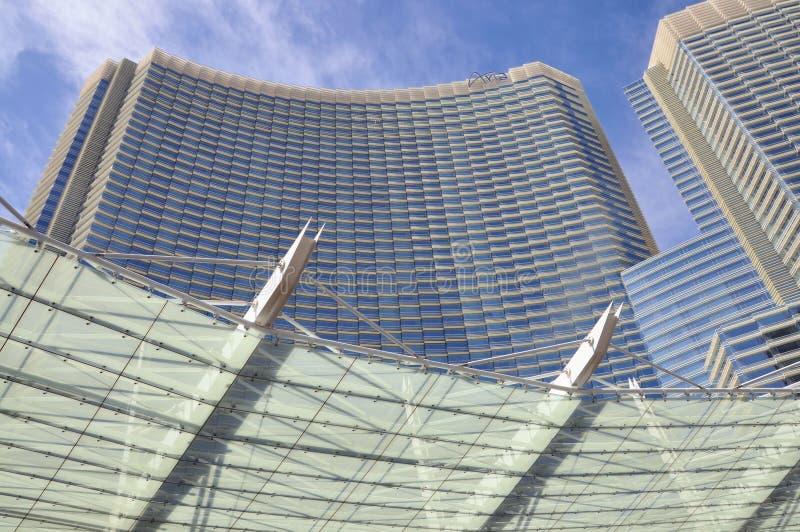 Centro turístico de la aria de Las Vegas imágenes de archivo libres de regalías