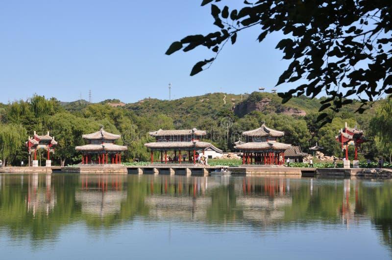 Centro turístico de montaña de Chengde fotos de archivo