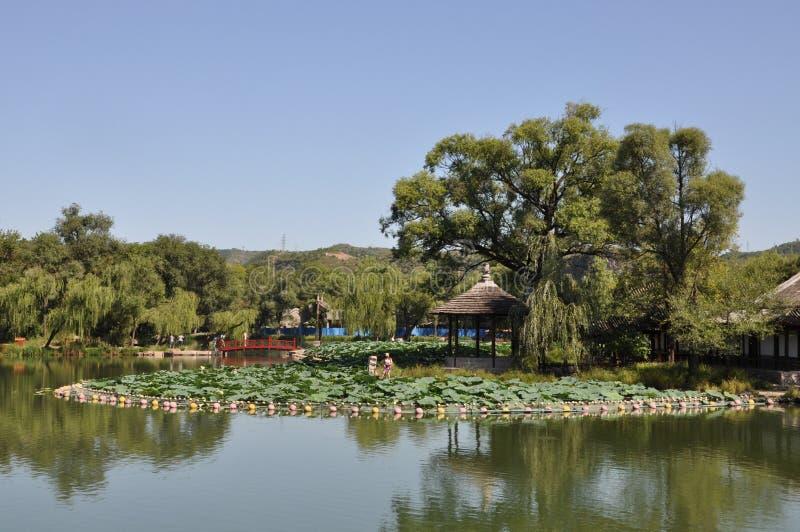 Centro turístico de montaña de Chengde imagen de archivo libre de regalías