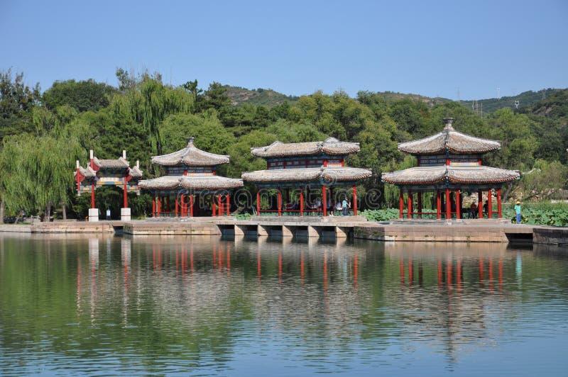 Centro turístico de montaña de Chengde foto de archivo libre de regalías