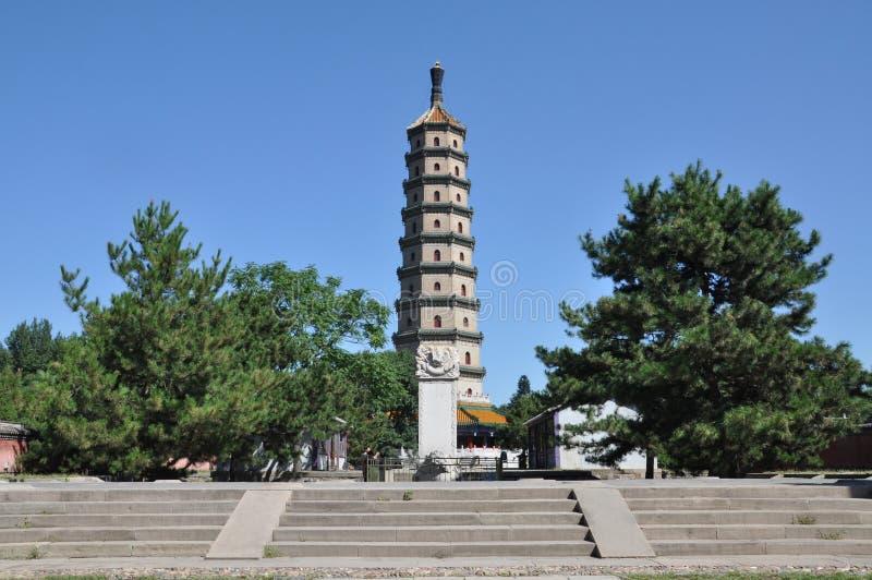 Centro turístico de montaña de Chengde imagen de archivo