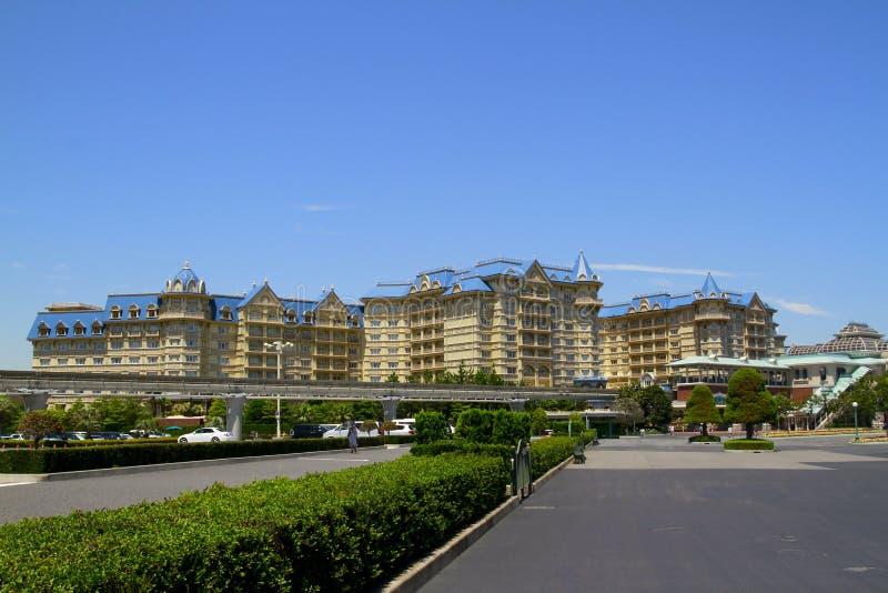 Centro turístico de Tokio Disney imagenes de archivo