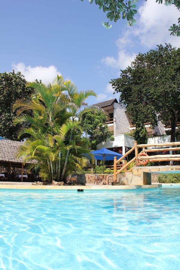 Centro turístico de vacaciones imagen de archivo libre de regalías