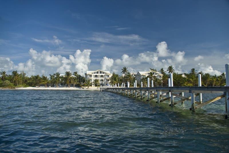 Centro turístico del Caribe foto de archivo libre de regalías