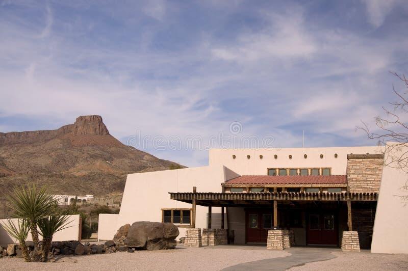 Centro turístico del desierto fotografía de archivo libre de regalías