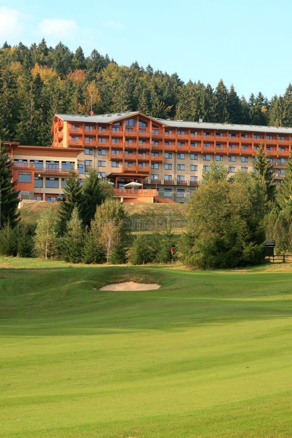 Centro turístico del golf foto de archivo libre de regalías