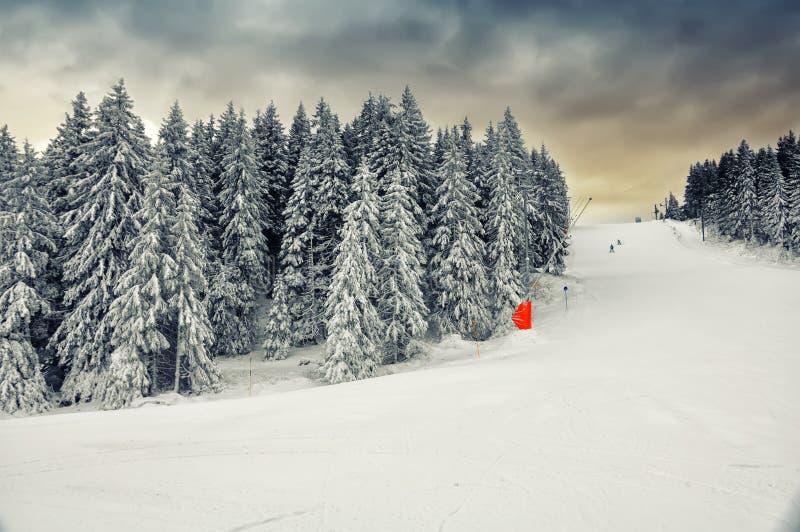 Centro turístico del invierno de Kopaonik, Serbia fotografía de archivo