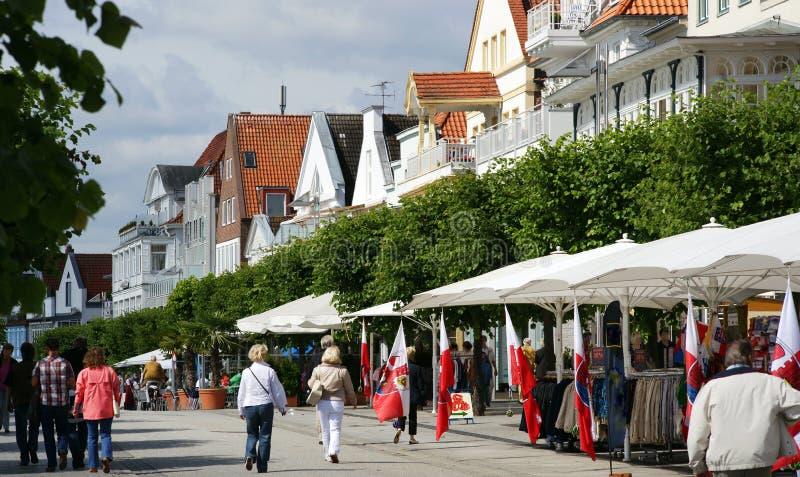 Centro turístico del mar Báltico fotos de archivo libres de regalías