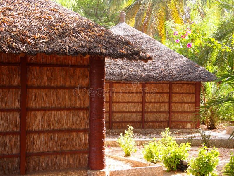 Centro turístico turístico en Senegal foto de archivo