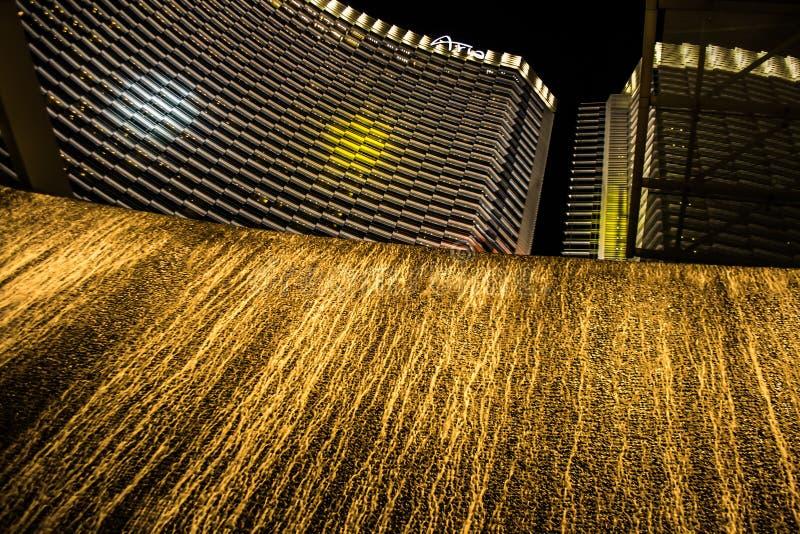 Centro turístico Las Vegas del hotel de la aria foto de archivo libre de regalías