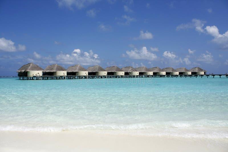Centro turístico Maldives de Kanuhura fotografía de archivo