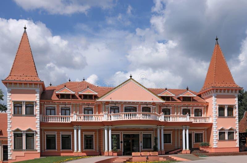 Centro turístico Serbia del castillo imagen de archivo libre de regalías
