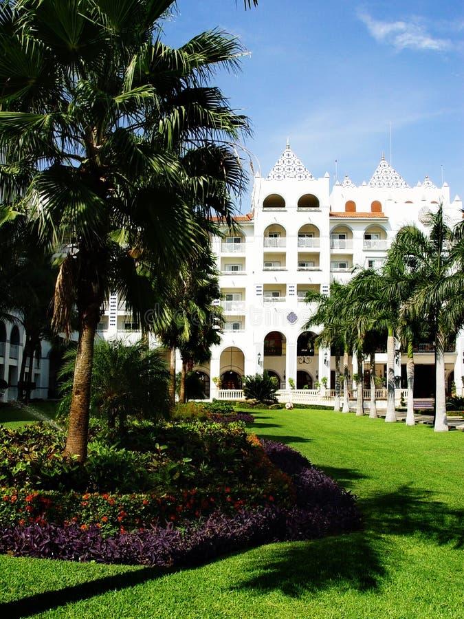 Centro turístico tropical fotografía de archivo libre de regalías