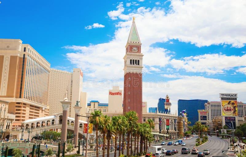 Centro turístico veneciano del hotel del casino en la tira de Las Vegas imagenes de archivo
