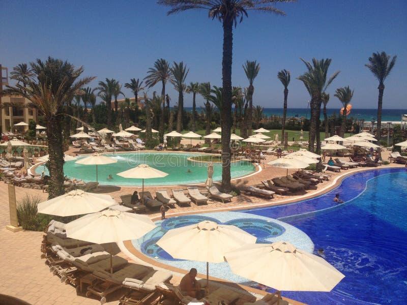 Centro turístico y Marine Spa Sousse de Moevenpick foto de archivo libre de regalías