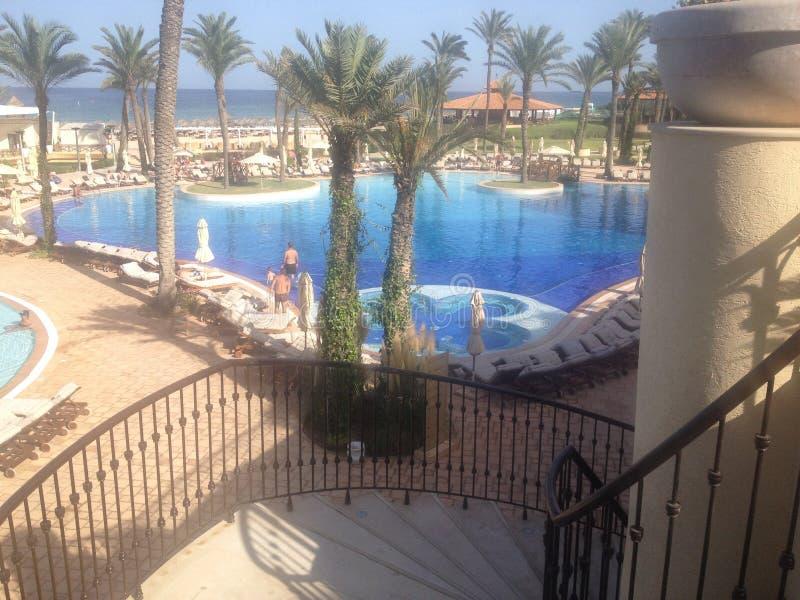 Centro turístico y Marine Spa Sousse de Moevenpick fotos de archivo libres de regalías