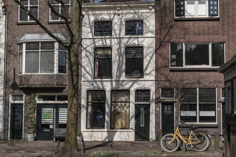 Centro urbano di architettura Gouda Olanda fotografie stock