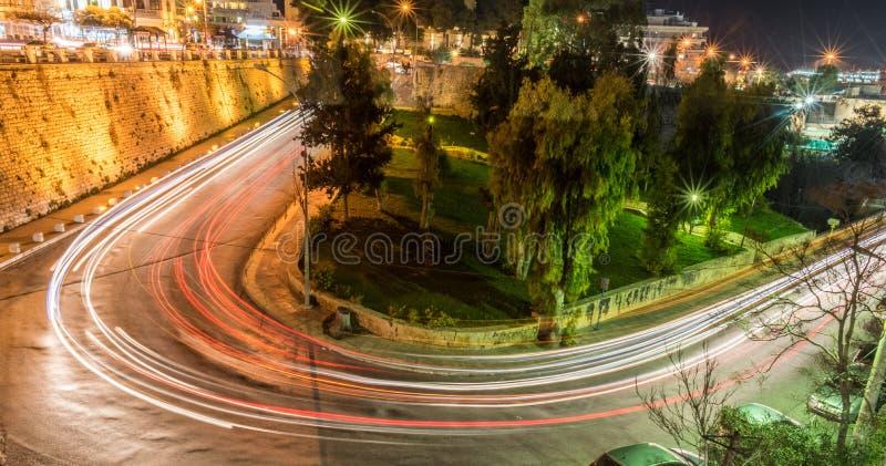 Centro urbano di Candia fotografia stock libera da diritti