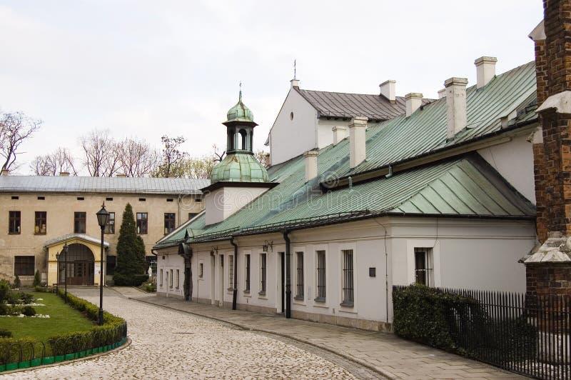 Centro velho da cidade de Poland Krakow foto de stock royalty free