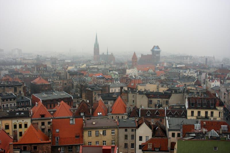 Centro velho da cidade Krakow no Polônia imagens de stock royalty free