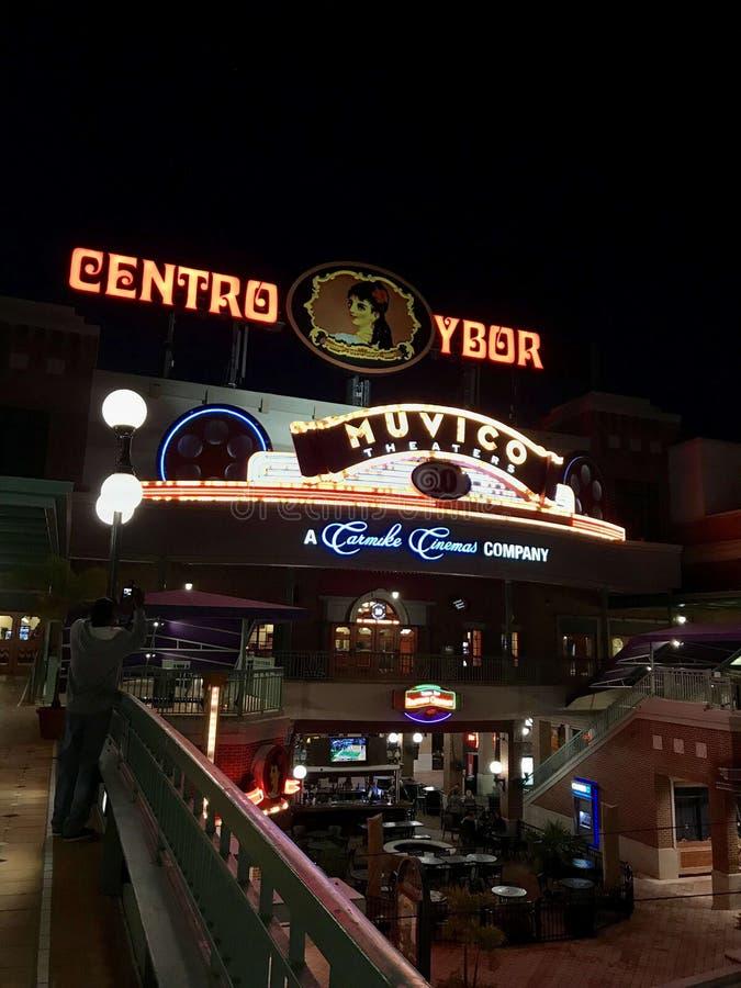 Centro Ybor, Тампа Флорида стоковое фото rf