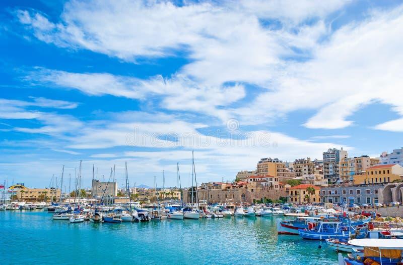 Centros turísticos de Creta fotografía de archivo libre de regalías
