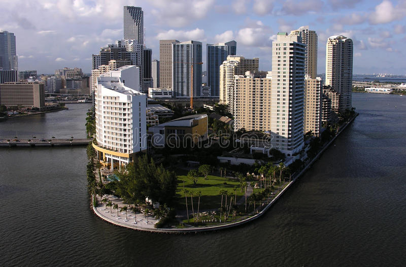 Centros turísticos de Miami fotos de archivo libres de regalías