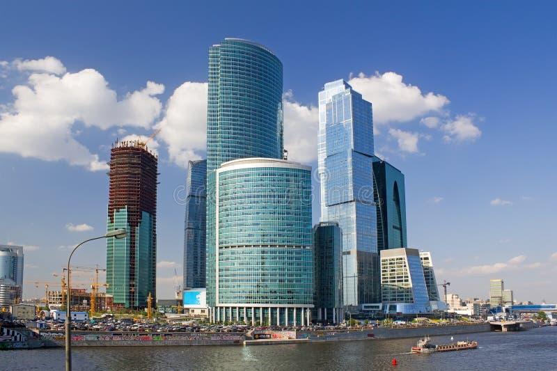 centrum biznesu zawody międzynarodowe Moscow obraz stock