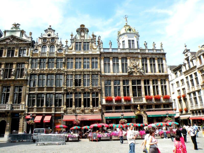Centrum Brussel fotografia royalty free