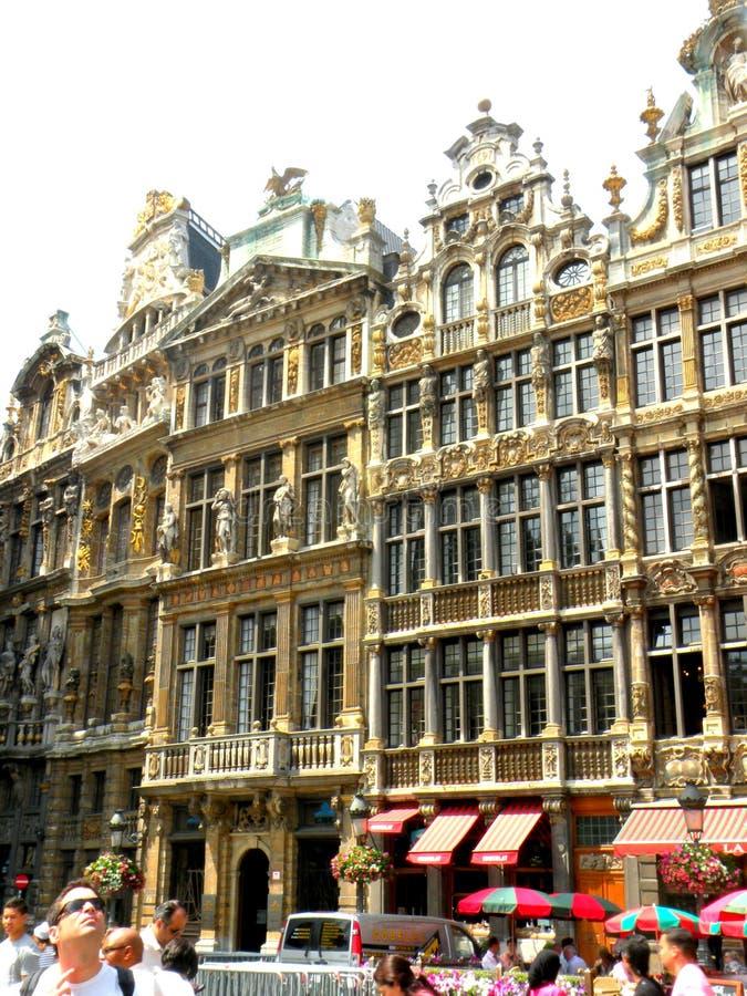 Centrum Brussel zdjęcie royalty free
