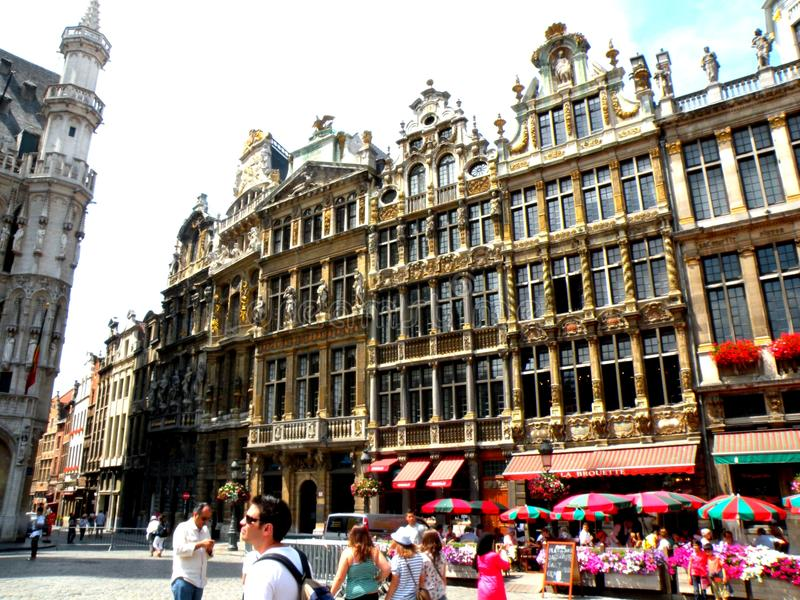 Centrum Brussel obraz stock