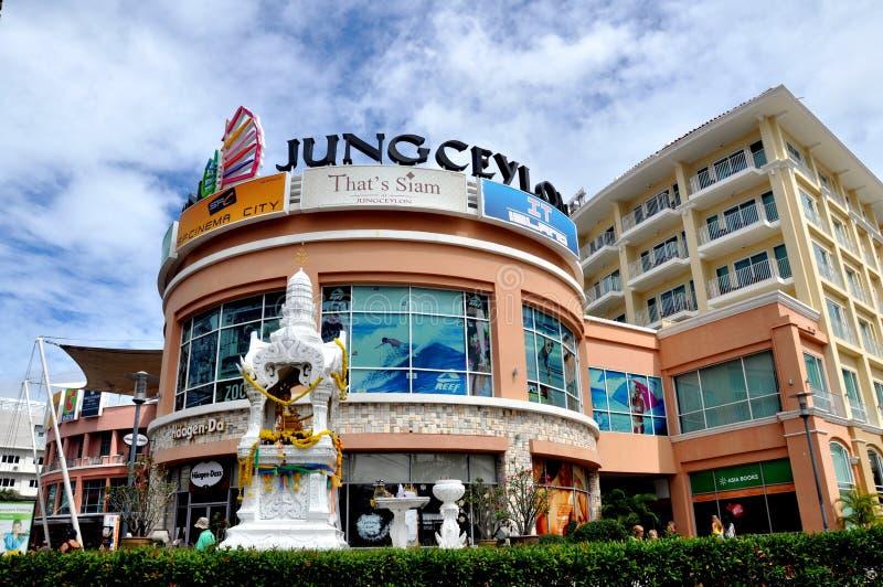 centrum Ceylon jung Phuket zakupy Thailand obraz stock