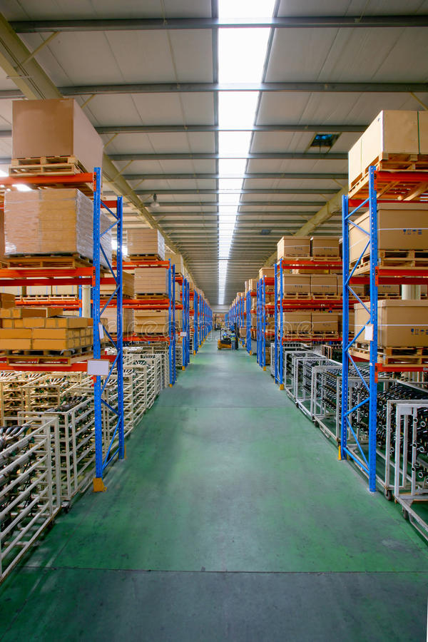 centrum chang logistyk minsheng magazyn zdjęcia stock