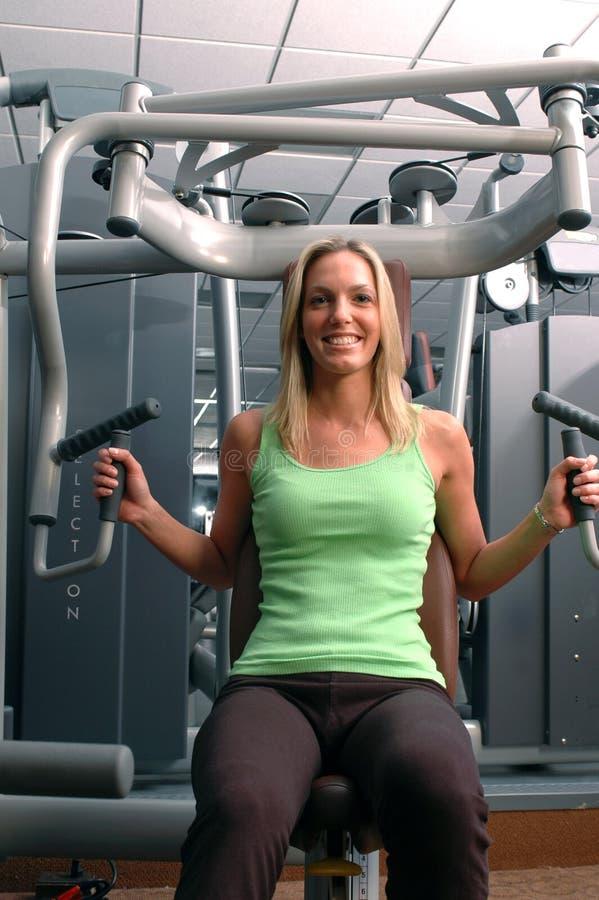 centrum fitness pretty woman fizycznej obrazy stock