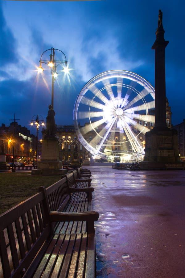 centrum Glasgow fotografia royalty free
