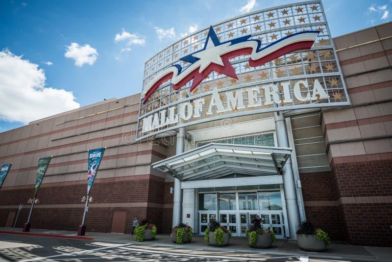 Centrum handlowe Ameryka główne wejście obrazy royalty free