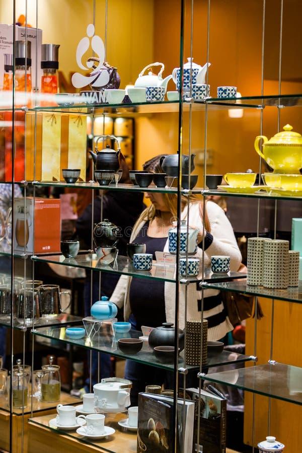 centrum handlowe centrum wewnętrzny zakupy obrazy stock